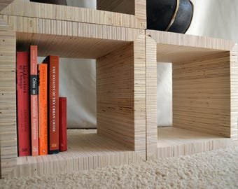 LAM BOX -- Multipurpose + Reconfigurable Shelves / Storage