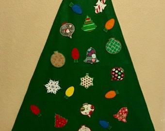 Large Felt Toddler Christmas Tree