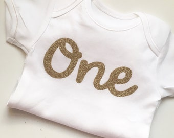 1st Birthday Glitter Vest for cake smash or party outfit