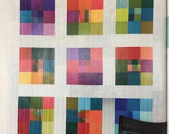 "Modern Nine Patch Quilt Kit 52"" x 52"""