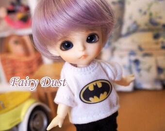 bjd doll boy wig W-3 (6 colors) 1/12 lati white fl pukipuki