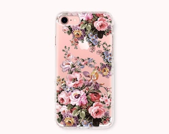 Floral iPhone 7 Case, iPhone 7 Plus Case, iPhone 6/6S Case, iPhone 6/6S Plus Case, iPhone 5/5S/SE Case, Galaxy S8 Case - Gorgeous flowers