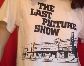 The LAST PICTURE SHOW T-Shirt - Brand New Shirt  Hand-Screen Printed