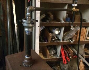 Propane burner for blacksmith forge