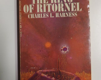 The Ring of Ritornel by Charles L. Harness Berkley Books 1968 Vintage Sci-Fi Paperback