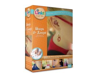 Hoops & Loops - 20 Earrings - Linkt Craft Kits