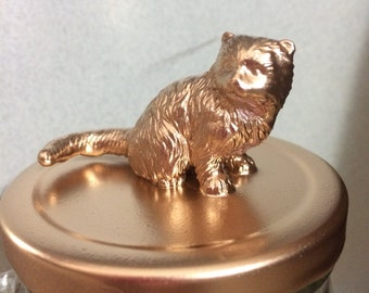 Gold Animal Topped Jars