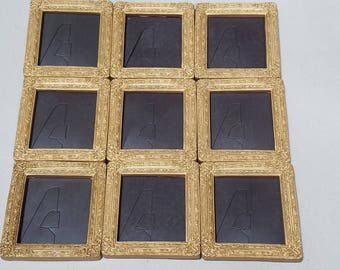 9, magnetic, mini frames