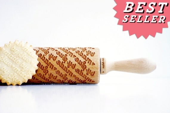 PERSONALIZED birthday gift , personalize gift, CUSTOM rolling pin, laser engraved rolling pin with name. personalized rolling pin, wedding