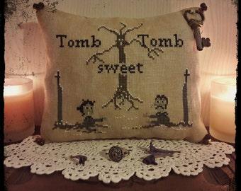 Tomb sweet Tomb - PDF Cross Stitch Pattern
