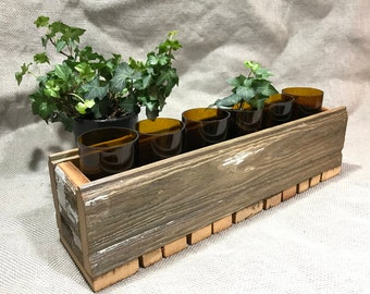 Reclaimed Barn Wood Window Box