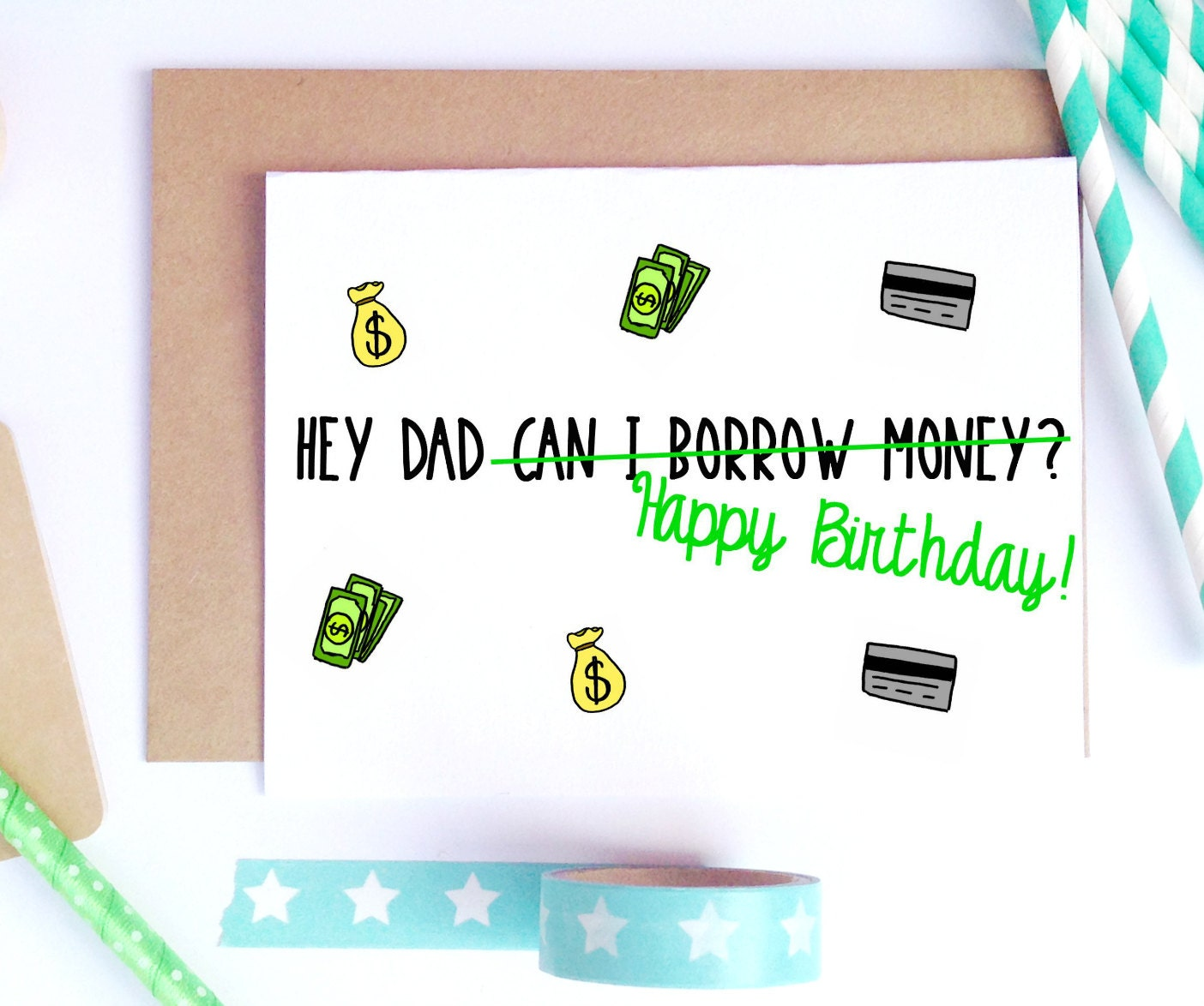 Dad birthday card – Birthday Card for Dad