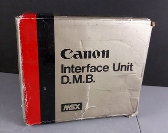 Canon Interface Unit D.M.B. MSX for T90 T-90 Data Memory Back New NOS