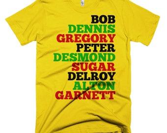 Reggae Legends T-Shirt // Jamaica // Reggae // Reggae Shirt // Jamaican Shirt // Fathers Day Gift