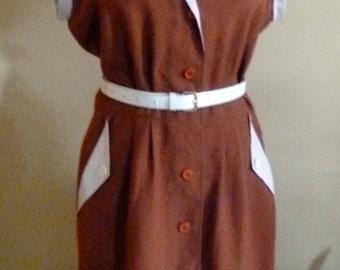 50's style, vintage dress