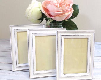 Picture Frame, Table Number Frames, Shabby Chic Picture Frames, Distressed Wood Wedding Frame, Photo Frame, Rustic Sign Frame