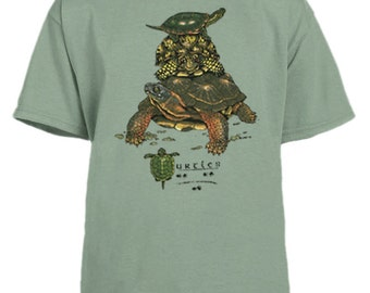 Turtles of North America youth t-shirt