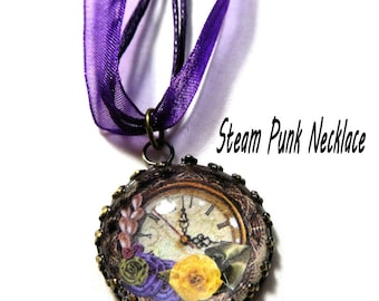 Necklace, Steam punk Necklace,Pendant, Steampunk jewelery, Pendant Necklace, steampunk charm