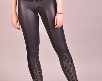 Latex Clothing, Black Leggings, Spandex Leggings, Yoga Pants, Tight Leggings, Gym Clothing, Yoga Clothing, Sexy Pants, Sport Leggings