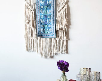 Tribal Macrame wall art by Ranran Design