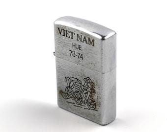 "Genuine 1960's ""Huê"" Vietnam War Lighter"