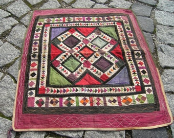 Perfect  Home  Decor  Turkoman   Tribal   Wall  Hanging  Embroidery  Cover   18,1''  X  20'' inches