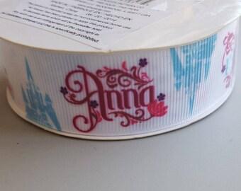 Disney Frozen Ribbon Anna Elsa Price is for 3 yards