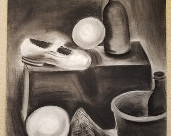 Charcoal Still-life