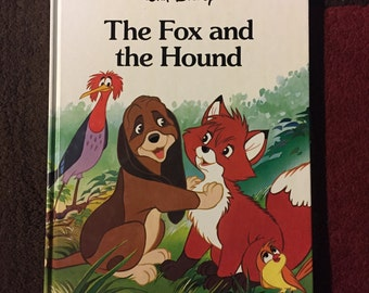 Walt Disney The Fox and the Hound - 1988 - Hardcover - Twin Books