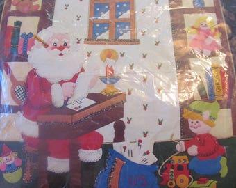 VINTAGE JEWEL PANEL Dear Santa