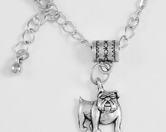 Bull dog Necklace  pug Necklace Bull dog jewelry  Bull dog lovers gift  Best jewelry gift  Diamond Cut Best Jewelry Gift