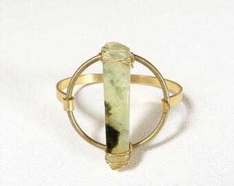 The Infinity Bracelet, crystal brass bracelet