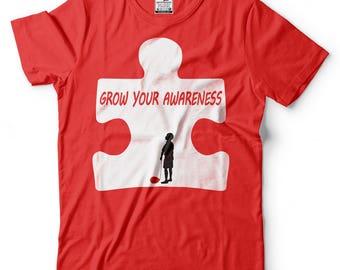 Autism T-Shirt Autism Awareness Puzzle Tee Shirt