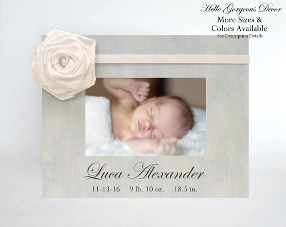 Personalized baby gift picture frame for newborn new baby boy personalized baby gift picture frame for newborn new baby boy custom photo frame light blue nursery decor baby keepsake gift new parents from negle Image collections