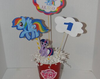 My Little PonyCenterpiece. Party Decorations