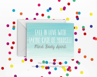 Encouragement Card - Inspirational Card - Motivational card - Get well card - Thinking of you card - You got this - Fitness