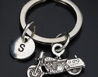 Motorbike Keychain, Custom Keychain, Custom Key Ring, Motorcycle Pendant, Motorbike Charm,Motorcycle Gifts,Biker Chick, Motorbike Lovers