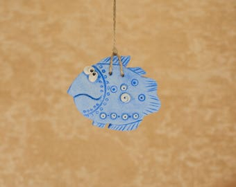 Home decor wall hanging decor blue decor baby boy nursery wall decor hanging decorations wall art kids room decor baby nursery animal