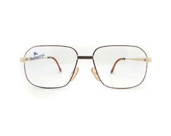 Genuine 1990s Burberry B8842 8DF Vintage Glasses // Made in Austria // New Old Stock