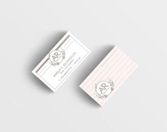 CUSTOM Business Card + Letterhead BUNDLE