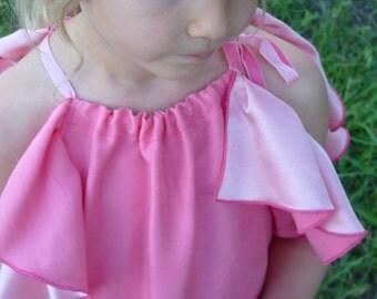 "Dress ""Bearbind"" with ruffle sleeve"