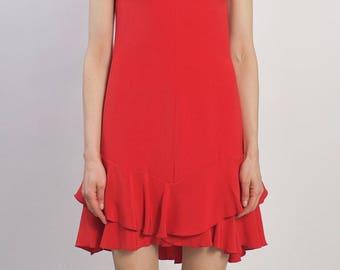 Valentino Vintage Red Dress