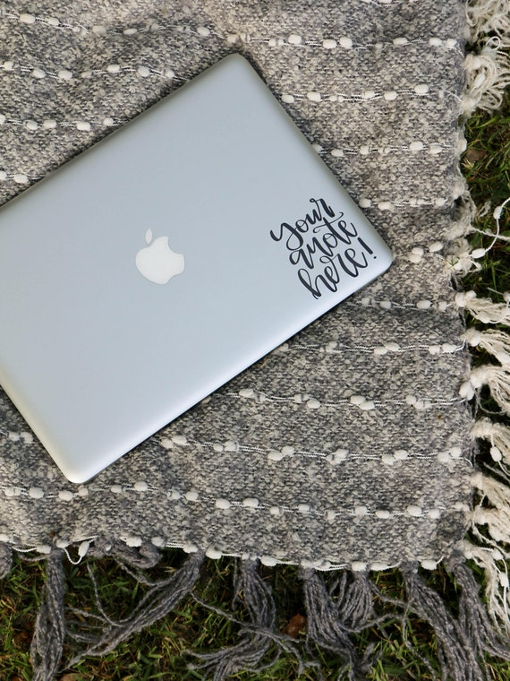 Custom Laptop Decal Custom Laptop Sticker Custom Vinyl Sticker - Custom vinyl decals for laptop