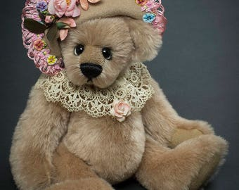 Original OOAK Mohair Artist Bear by Vicky Lougher