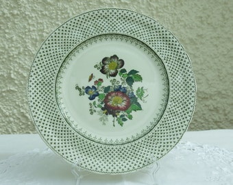 Vintage Decorative China Plate by Masons, England