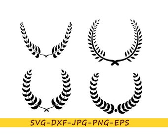 Monogram wreath svg for hoop frame in eps format, svg, jpg, png, dxf. For Cricut, Silhouette, cut file, for vinyl, embroidery