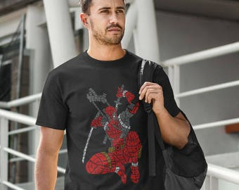 Deadpool Typography T-Shirt