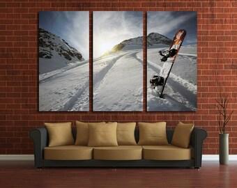 snowboard canvas art snowboard Photo snowboard Wall Art snowboard Poster snowboard Print snowboard Wall Decor snowboard Art Winter Sport