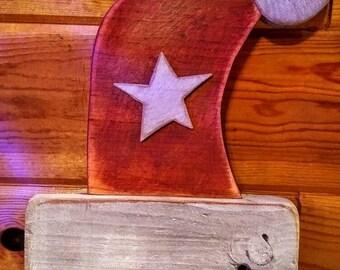 Rustic Santa Hat