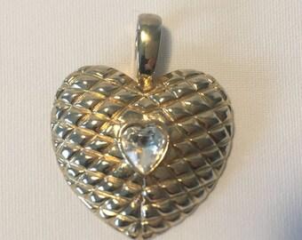 Mega big heart, vintage pendants